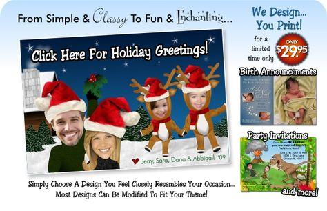 Unique Christmas greetings!