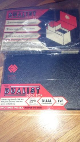 The Dualist Blue DEX Protection Deck Box