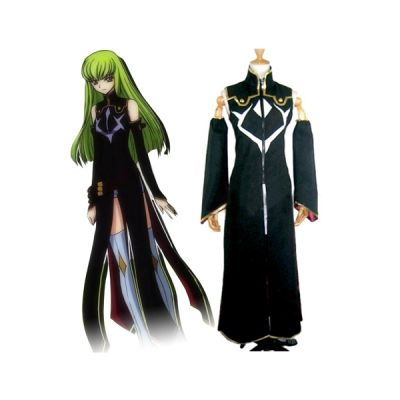 Code Geass Cosplay Costume C.C.2nd Any Size