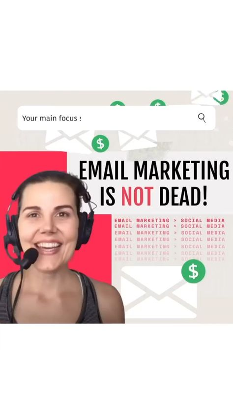 Email Marketing is NOT Dead & It should be your main focus for growing your business