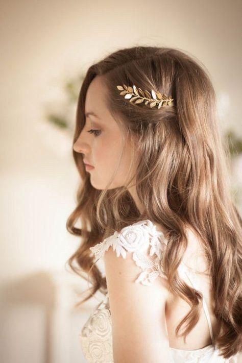Novias Con El Pelo Suelto Presume De Melena Hair Styles - Pelo-suelto-novias