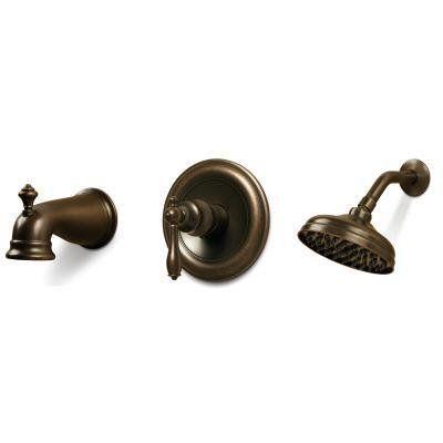 Pegasus 875 9196 9200 Single Handle Tub Shower Heritage Bronze Tub And Shower Faucets Shower Tub Faucet