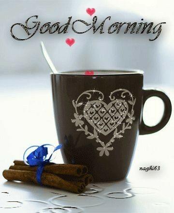 good morning i love coffee in winter ☕❄ good morning