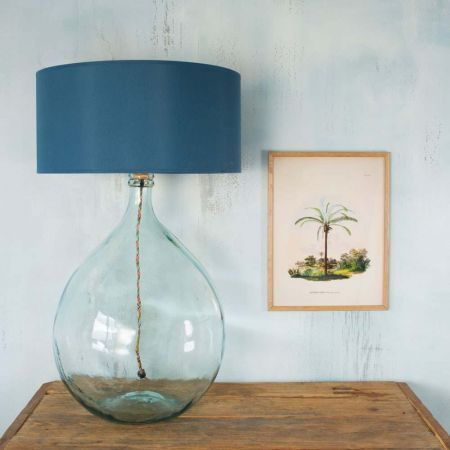 Round Glass Extra Large Clear Lamp 6755 Dume Drive Shopping