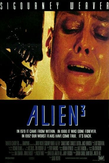 Alien 3 Poster 6 Pelicula De Extraterrestres Carteleras De Cine Peliculas Cine