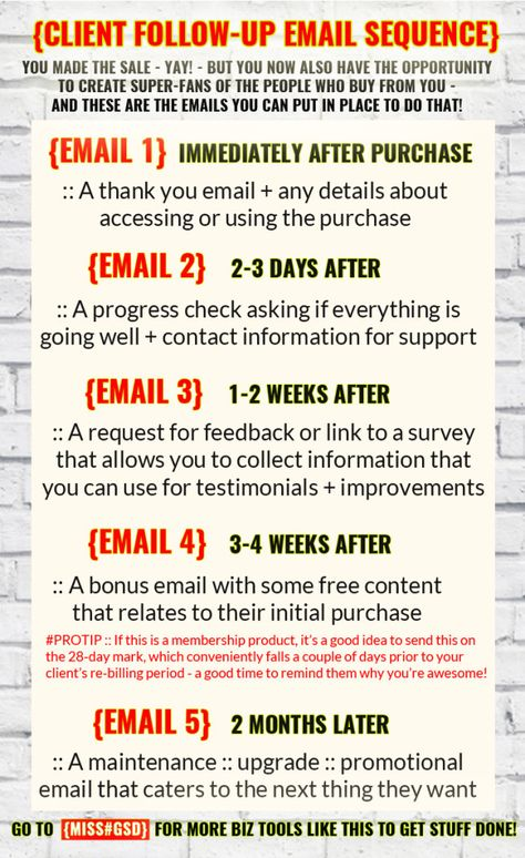 Ensure growth of your business in the industry by sending timely - follow up email