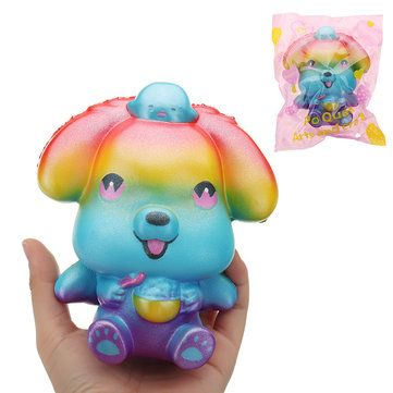 Taburasaa Mouse Squishy 12.5*15cm Slow Rising With Packaging Collection Gift Sof