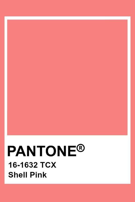 Pantone Shell Pink