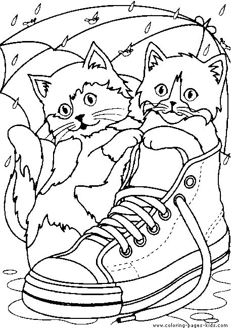 100 best cats images on pinterest colouring pages cute kittens and cat party - Cute Cat Coloring Pages
