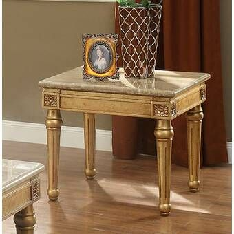 Ismael End Table With Storage Gold Living Room Furniture End Tables With Storage Living Room Decor Furniture