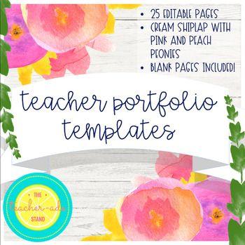 Teacher Portfolio Template Cream Shiplap Teacher Portfolio Portfolio Templates Philosophy Of Education