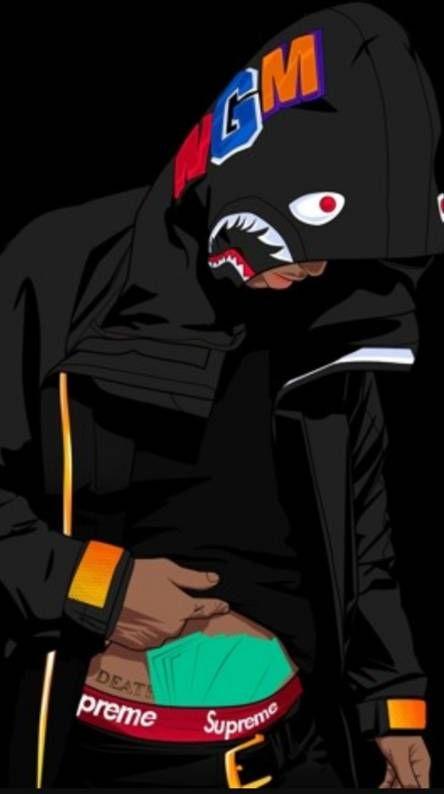 Supreme Bape Swag Art Bape Art Cartoon Art Styles
