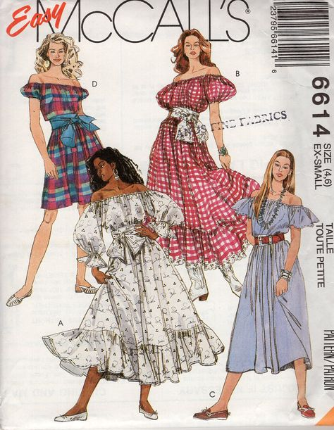 Vintage 1980s Mccalls 7192 6889 Dollhouse Furniture Dolls and Clothes Sewing Pattern