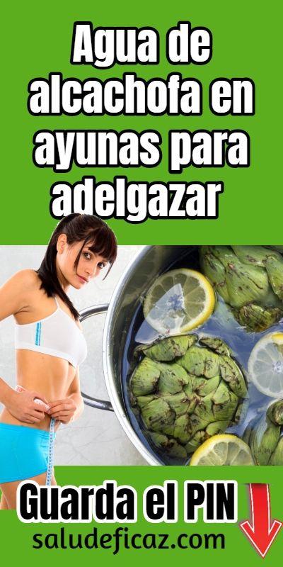como hacer el te de alcachofa para adelgazar