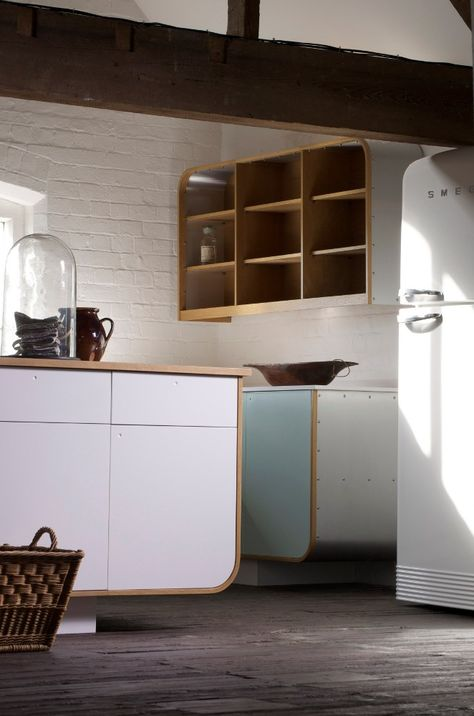 Air Kitchen by DeVol at 100% Design #kitchen