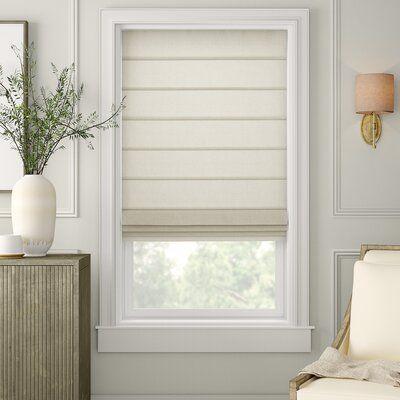 Duralee Fabrics Semi Sheer Roman Shade Body Fabric Linen Slub Ivory Size 48 W X 72 L In 2021 Fabric Window Treatments Fabric Window Shades Sheer Roman Shades
