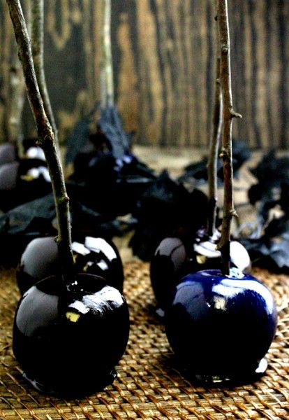 Poison Apples - The Best Spooky Halloween Food on Pinterest - Photos
