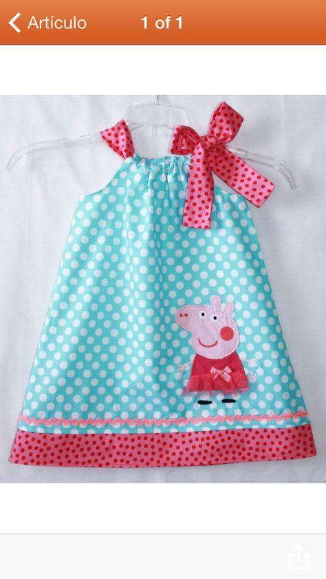 Peppa pig birthday dress