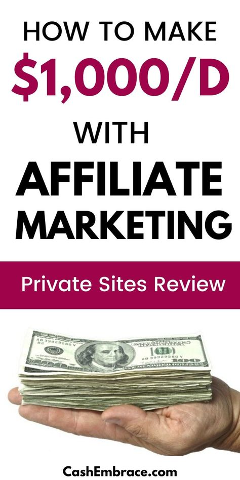 How To Make $1,000/Day With Affiliate Marketing