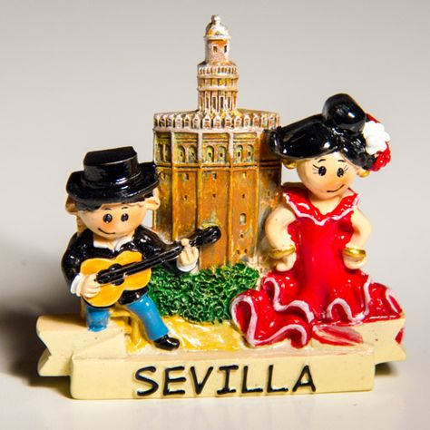SEVILLE SPAIN FRIDGE MAGNET