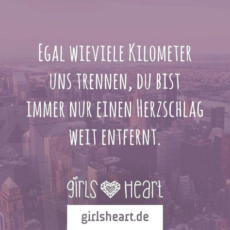 No matter how many kilometers separate us, you  always just a heartbeat far away. ❤️  Egal wieviele Kilometer uns trennen, du bist immer nur einen Herzschlag weit entfernt.