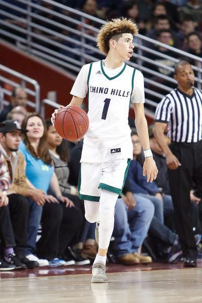 Lamelo Ball Photos Lamelo Ball 1 Of Chino Hills High School Controls The Ball Down Court During The G Lamelo Ball Chino Hills Basketball Nc State Basketball