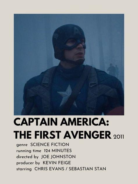 Poster de Captain America: The First Avenger