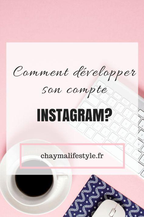 Comment développer son compte Instagram ?