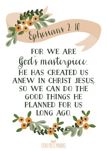 Image result for ephesians 2:10 pics