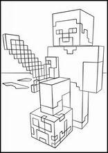 Malarbok For Barn Minecraft16 Farglaggningssidor Minecraft For