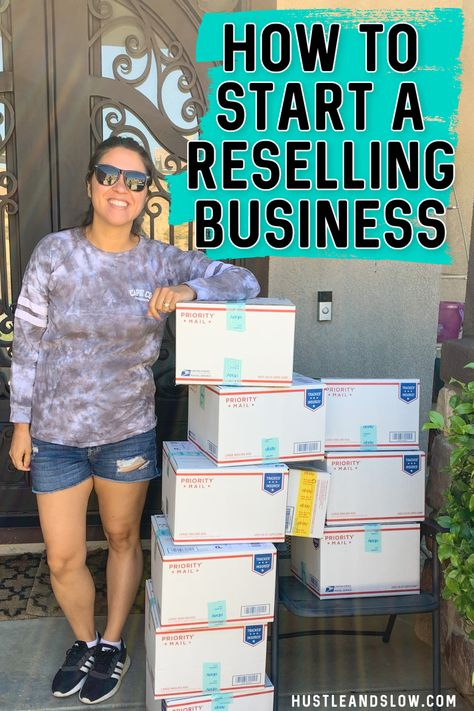 How to Start a Reselling Business   Hustle & Slow