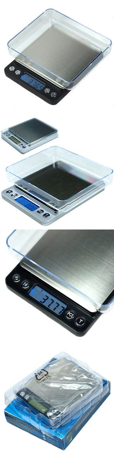 ACCT-500 500g x 0.01g Portable High Precision Digital Scale with Trays