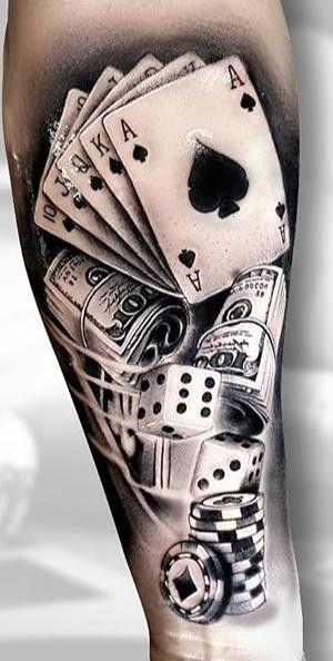 Pin By Dedra Lynn On Crafts Gambling Tattoo