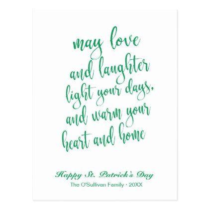 Patricks Day Happy St Script Font St Patrick\s Day Irish Made in USA
