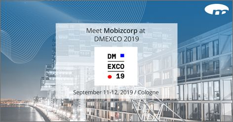 Mobizcorp takes part in DMEXCO – digital marketing exposition & conference