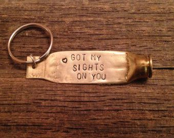 Custom Bullet Keychain