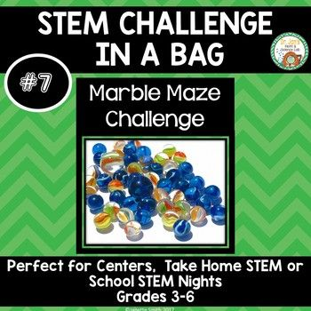 Stem Challenge In A Bag Is A Fun And Engaging Way To Deliver Stem Opportunities To Your Students These Neat Little Bags Stem Challenges Easy Stem Marble Maze