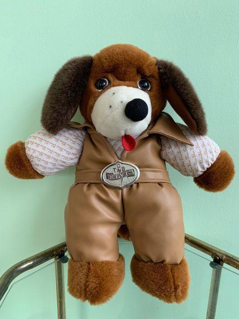 Vintage Plush Elvis Presley Hound Dog Stuffed Animal