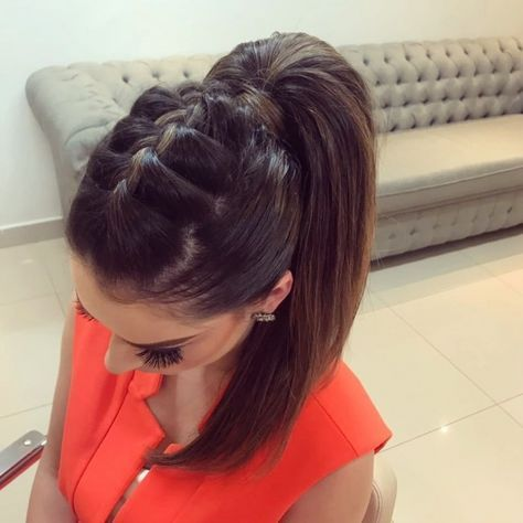 Braids Africanas Recogido 45 Super Ideas Hair Styles Braids For Long Hair Cute Ponytail Hairstyles