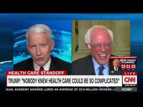 Watch Bernie Sanders Bust Out Laughing At Trump S Daft Claim That Nobody Knew Health Care Is Complicated Health Care Laugh Out Loud