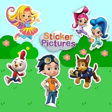 Nick Jr Sticker Pictures Spring 2018 Nick Jr Games Handprint Art Science Games