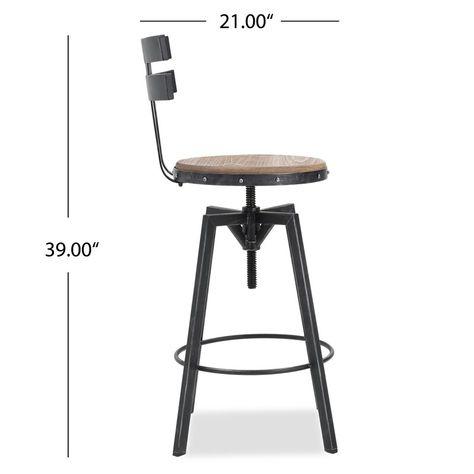 Wondrous Sylvania Adjustable Height Swivel Bar Stool Gamerscity Chair Design For Home Gamerscityorg
