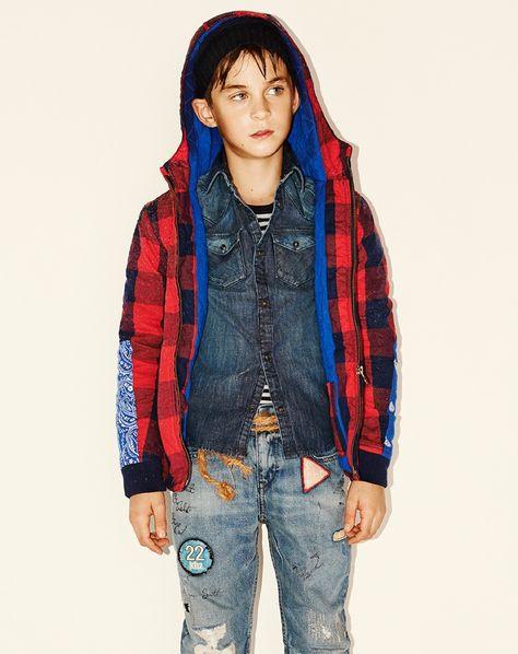 Olive oh Yeah Hooded Gymboree Boys Big Fashion Millitary Jacket