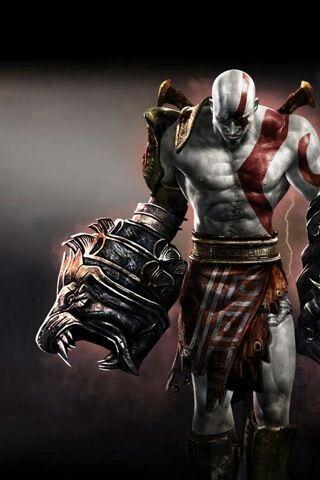 Pin Em Kratos God Of War
