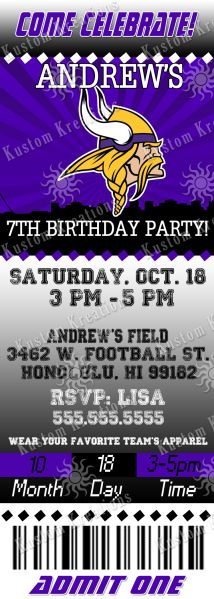 Best Vikings Tickets Ideas On Pinterest Visit Germany - Birthday invitation in germany