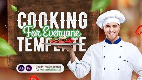 Cooking YouTube Template - After Effects Template