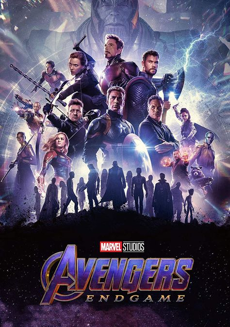 Avengers Endgame Poster - 2019 Marvel Movie (16x25) inch Poster Print frameless art gift 40 x 63 cm