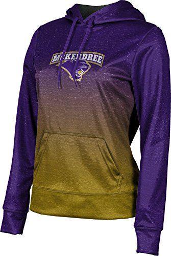 ProSphere McKendree University Girls Pullover Hoodie School Spirit Sweatshirt Ombre