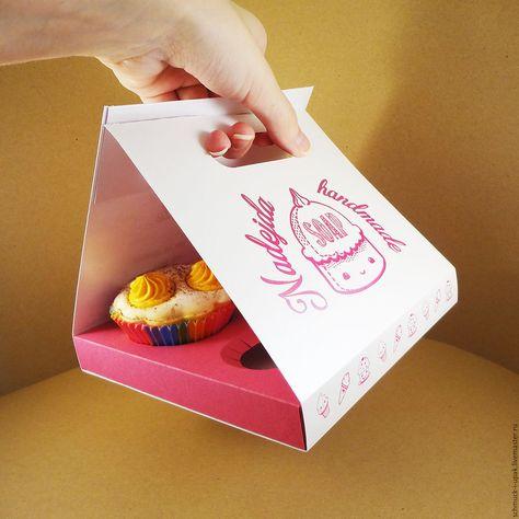 Упаковка для косметики ручной работы