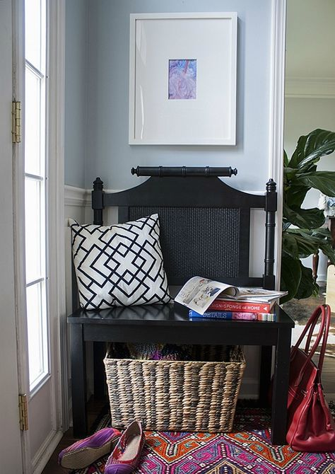 """After a little #DIY """"surgery,"""" it has a new life as a more petite piece. #homedecor"""